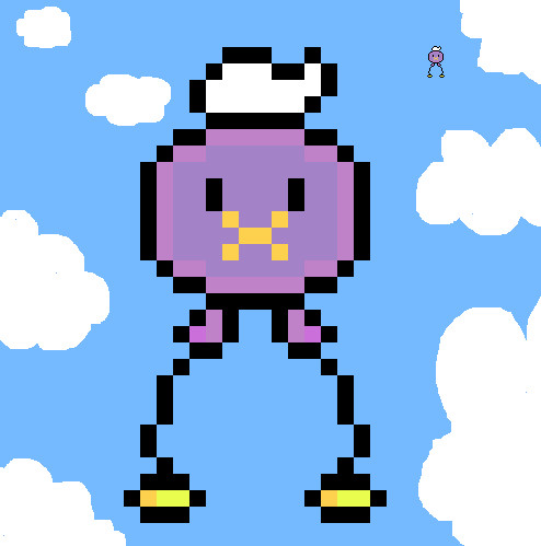 Drifloon Pixel Art By Woouu On Deviantart