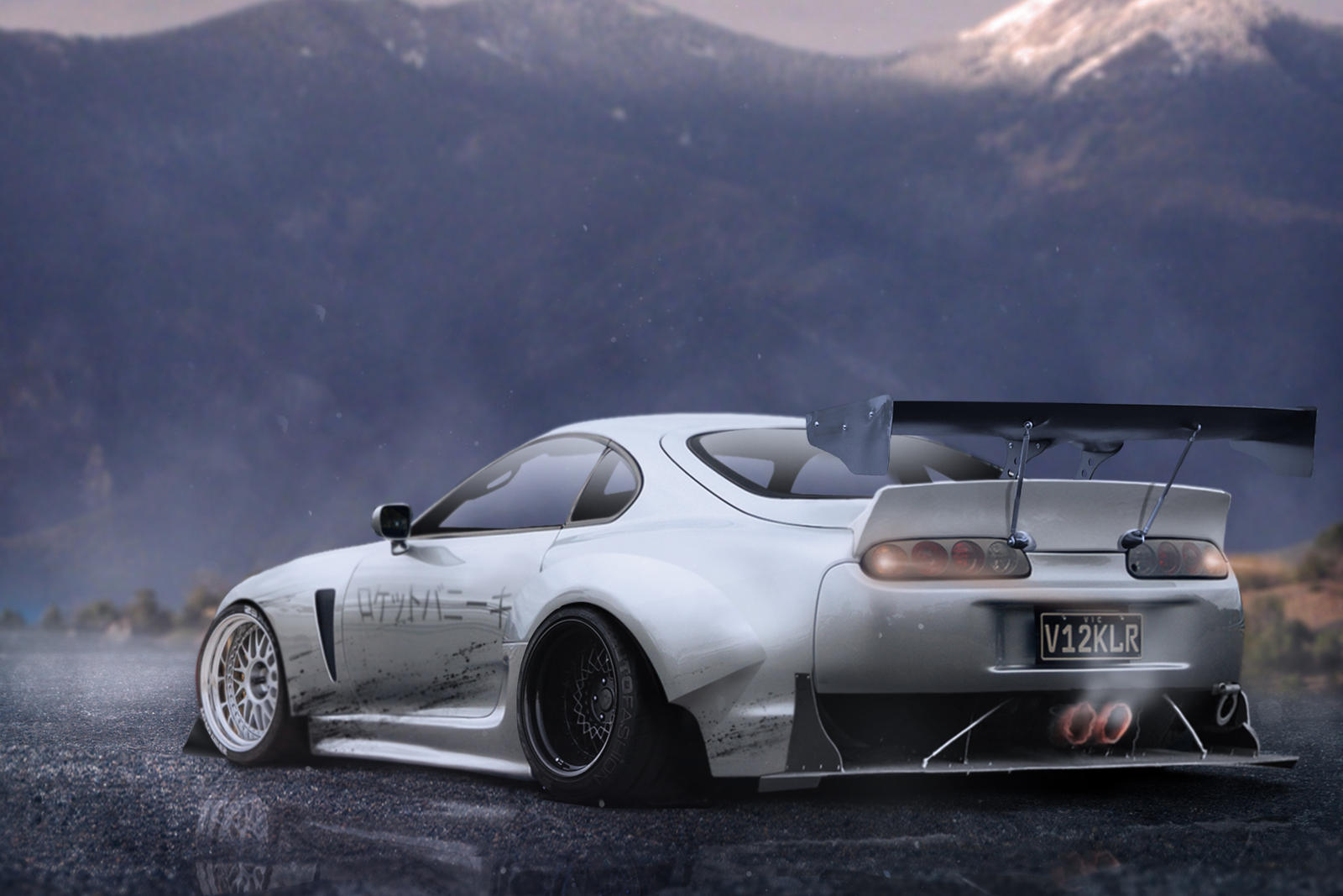 Rocket Bunny Toyota Supra By Mattmcquiggan On Deviantart