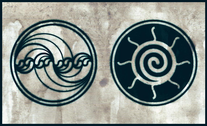 water fractal sun spiral tattoo design by poietix on deviantart. Black Bedroom Furniture Sets. Home Design Ideas