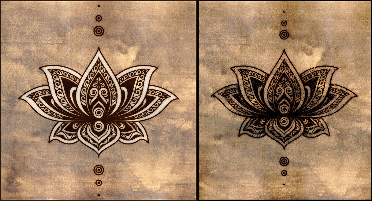Lotus tattoo design by poietix on deviantart lotus tattoo design by poietix izmirmasajfo