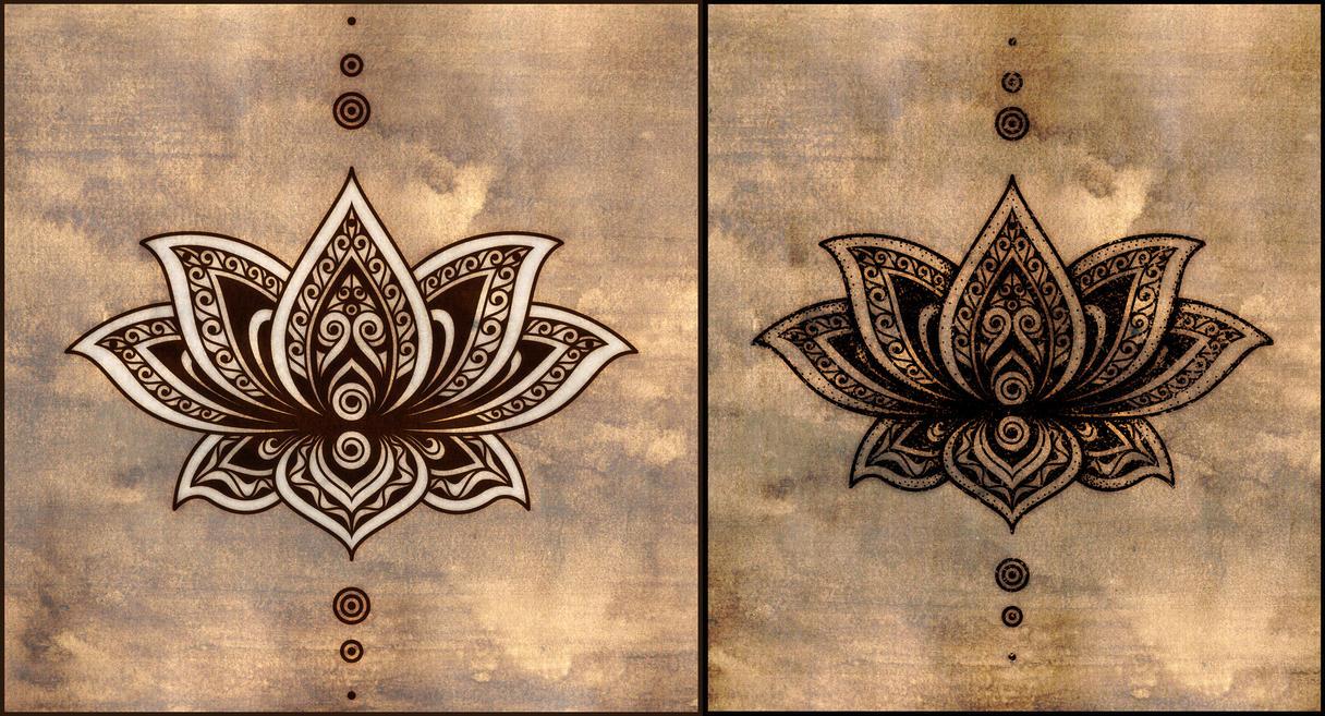 Lotus tattoo design by poietix on deviantart - Tatouage fleur de lotus mandala ...