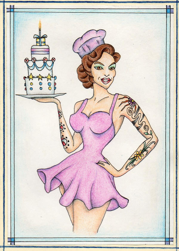 Pin-up birthday by 3PenProblem
