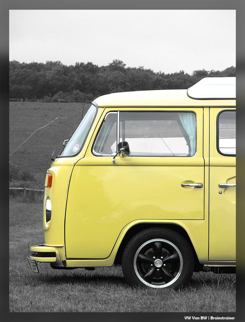 Silverstone::VW Van BW by