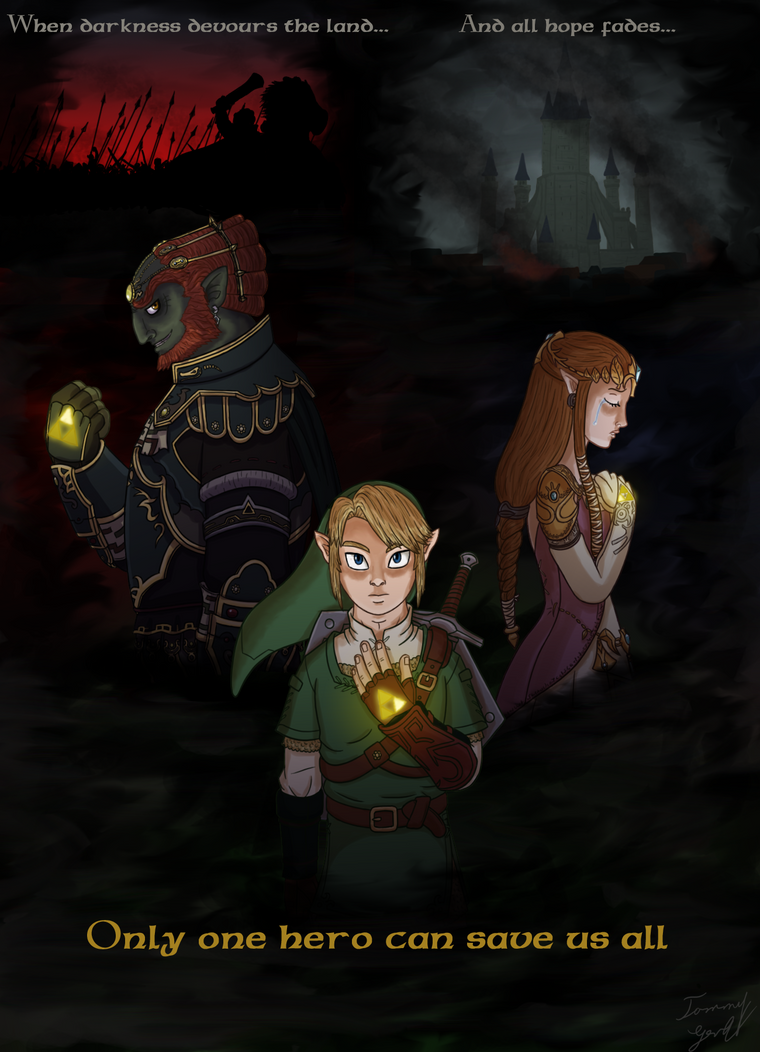 The Triforce Bearers by Limeknight