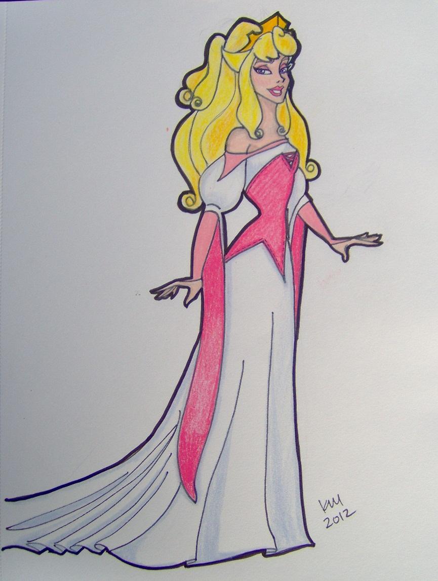 Aurora\'s Wedding Gown by happyeverafter on DeviantArt
