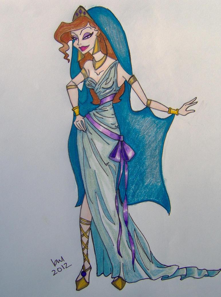 Megara\'s Wedding Dress by happyeverafter on DeviantArt