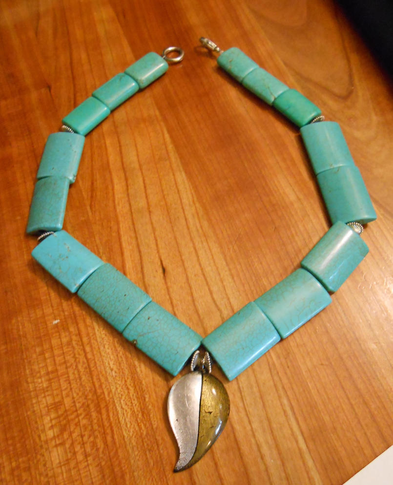 pocahontas turquoise necklace by happyeverafter on deviantart