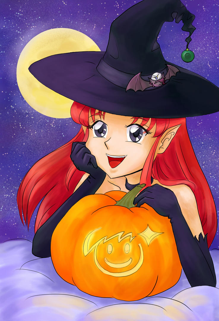 Azalyn the little witch by astra3000