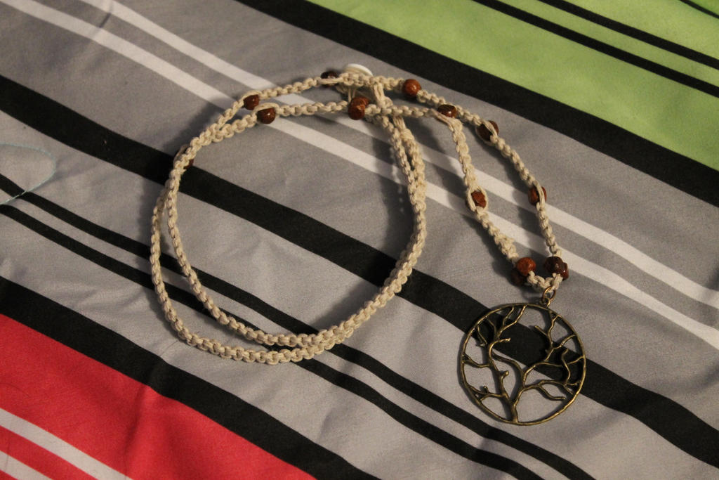 Tree of life hemp necklace by thenatchan on deviantart tree of life hemp necklace by thenatchan aloadofball Images