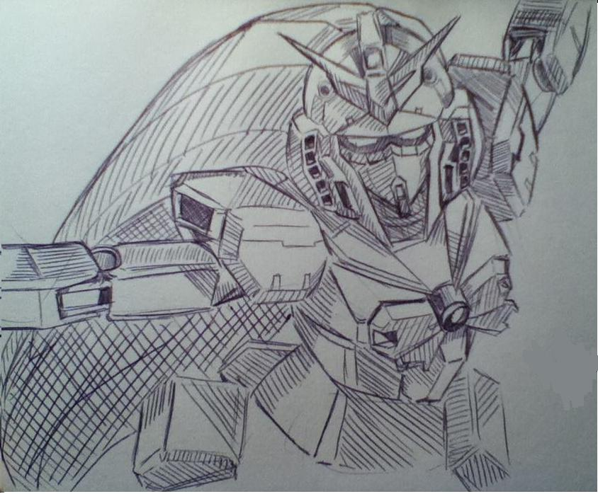 Noble Gundam by TheNatchan