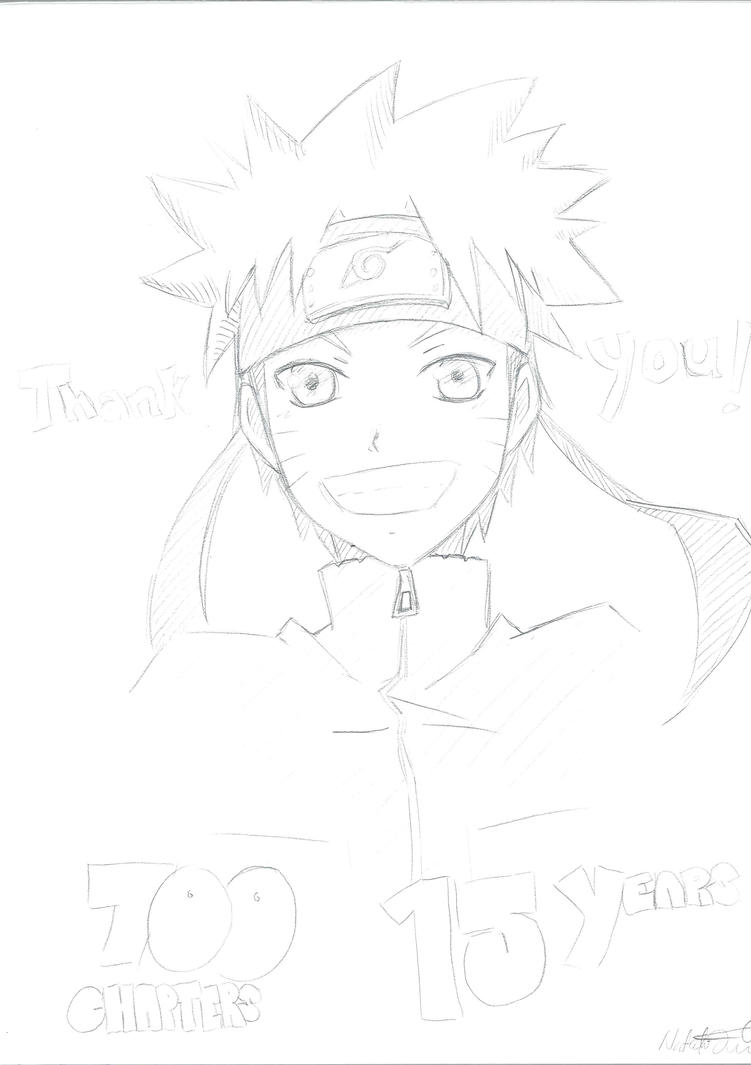 Naruto Tribute Sketch by TheNatchan