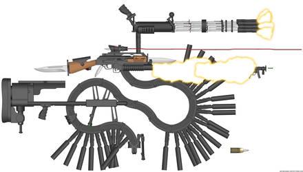 COD: Advanced Warfare leaked gun