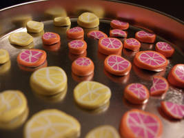 lemon n' fruit slices by xsuicidemakeover