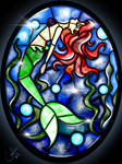 Stained Glass Ariel