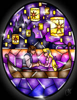 Stained Glass Tangled