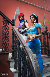 Aladdin n Jasmine CrossOver Prince Of Persia by DarkSideOfMoony