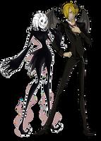 [PC] HT Cova and Sanji by S0KK0