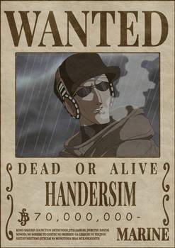 Handersim Wanted poster