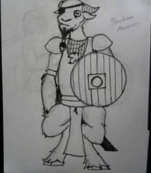 Beastman #1 by Skelebrumm