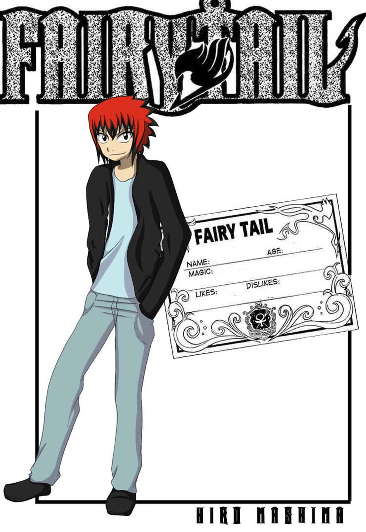 Fairy Tail Guild Card Request by ansjovisjj on DeviantArt