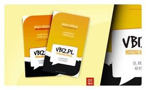 Vbiz Business Card by drammen