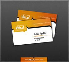 Vbiz business card 2 by drammen