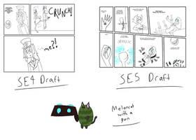 Rough DreamCatcher SE sketches