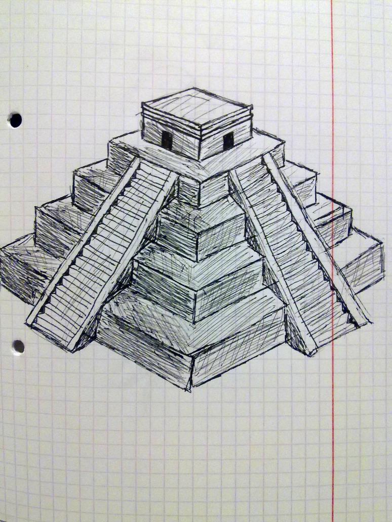 Aztec Pyramid Wallpaper Aztec pyramid by oceansoul7777