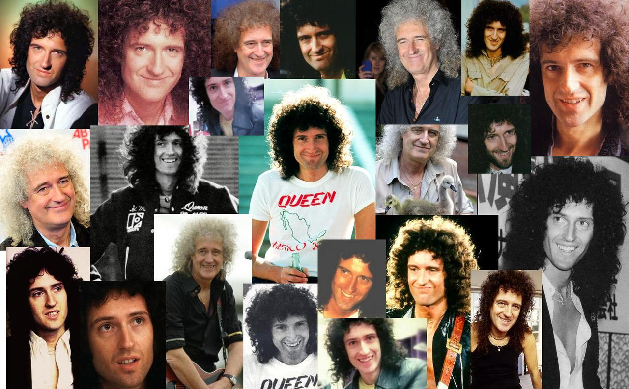 Brian May smiling by Oceansoul7777