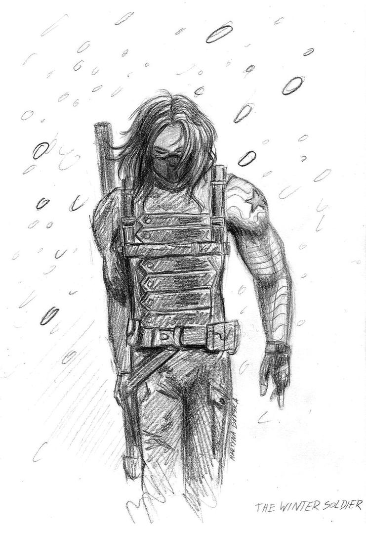 The Winter Soldier by Oceansoul7777