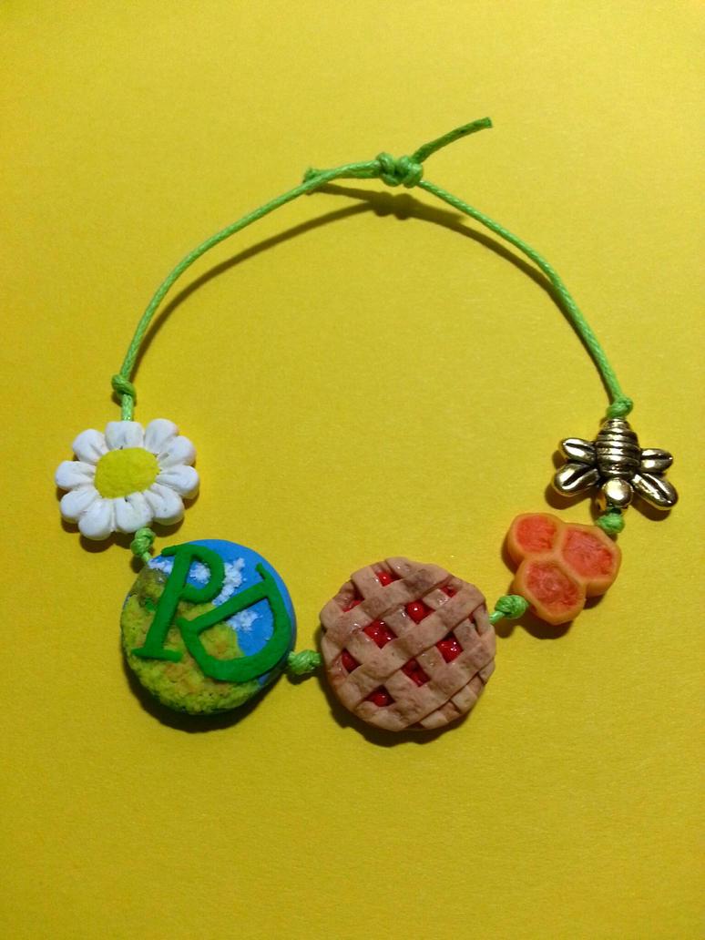 Pushing Daisies bracelet by Oceansoul7777
