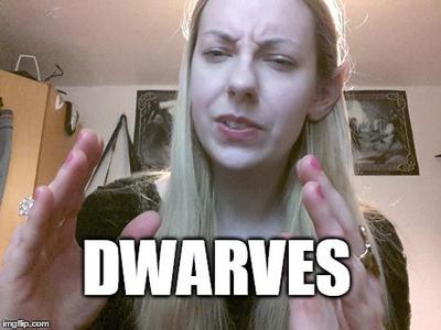 Dwarves meme by Oceansoul7777