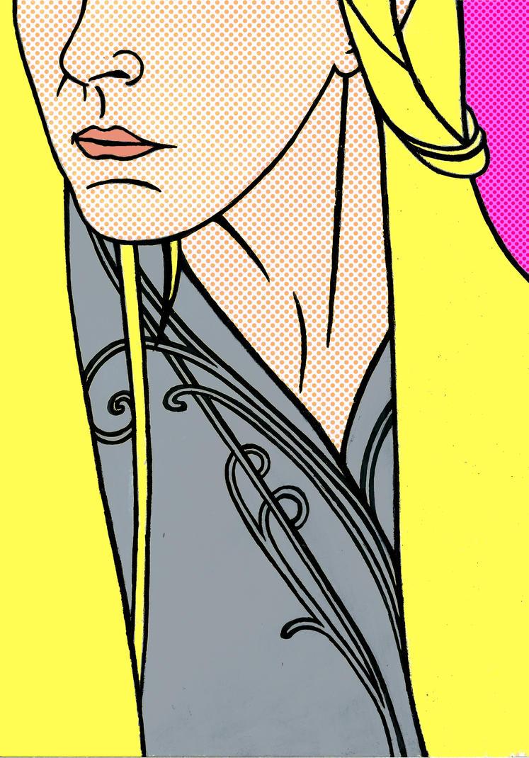 Thranduil in pop art by Oceansoul7777