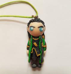 LOKI necklace by Oceansoul7777