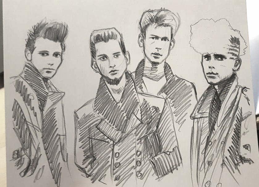 Depeche Mode by Oceansoul7777