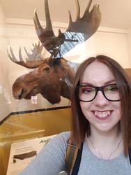 Selfie with Moose by Oceansoul7777