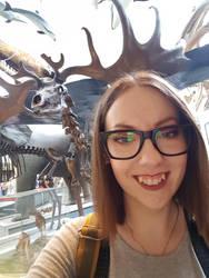 Selfie with Elk by Oceansoul7777