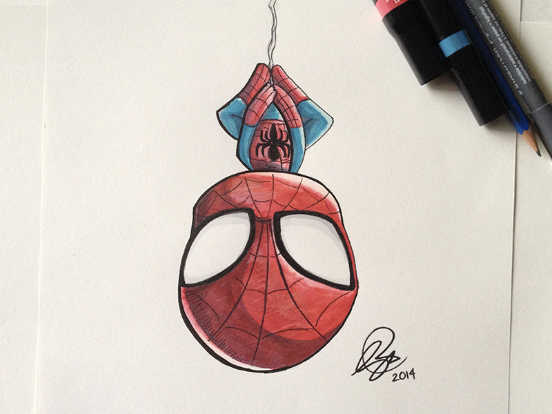 Chibi Spiderman by Ruby--Art on DeviantArt