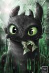 Toothless Fanart (Term 4 reward)