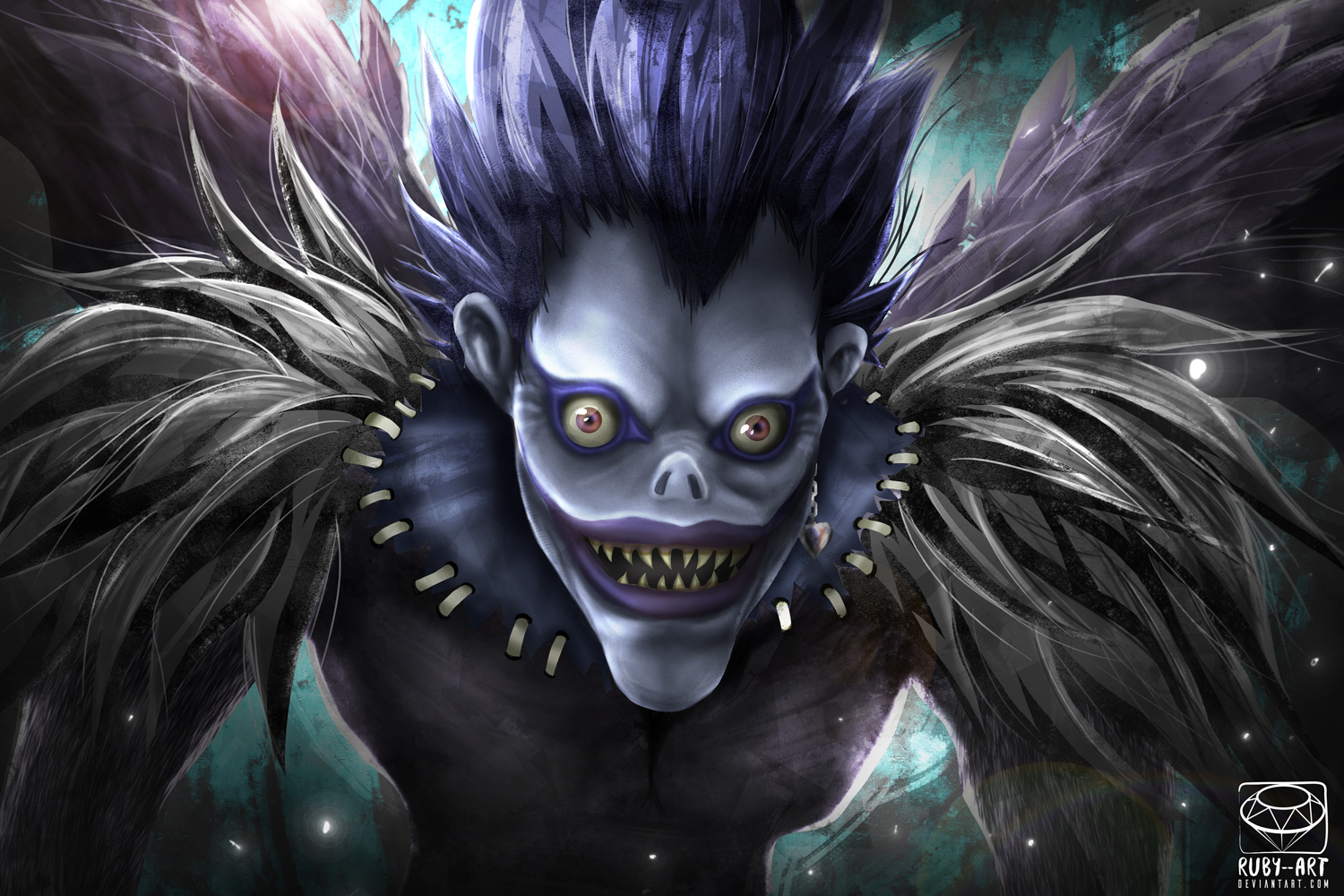 Ryuk Fanart by Ruby--Art on DeviantArt