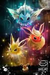Pokemon Eevee Evolution Fanart
