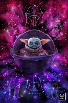 Baby Yoda Fanart