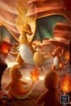 Fire Starter - Pokemon Fanart - First Generation