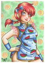 Fanart: Ranma Girl-type by JupiterBlossem