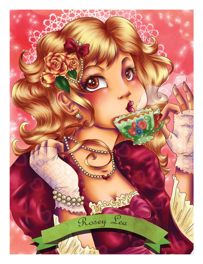 Rosey Lea Tea by JupiterBlossem