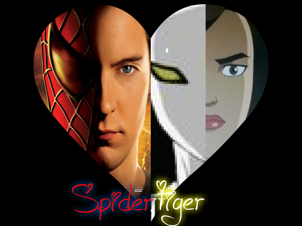 Spiderman and white tiger kiss fanfiction