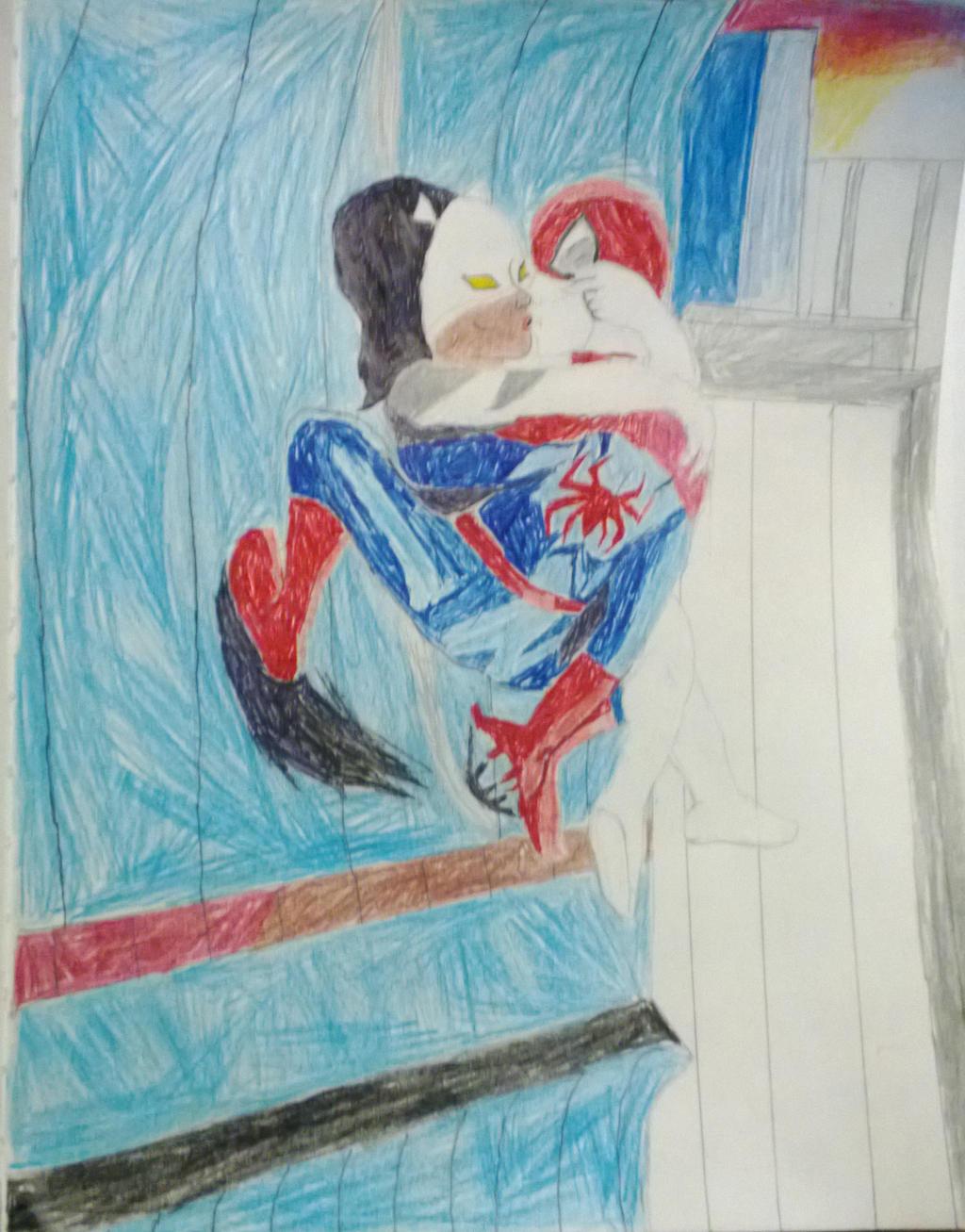WhiteSpider Kiss by SpiderTiger14 on DeviantArt