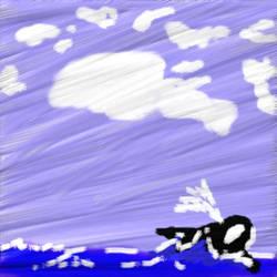 first corel pic: orca by salemnorongachi