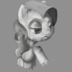Rarity ( sketch painting) by tcgraham93