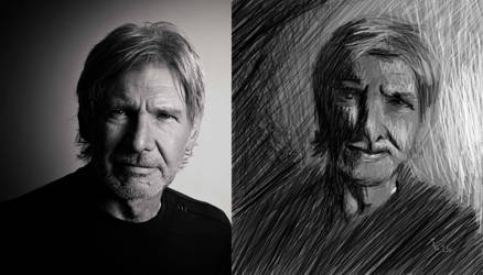 Harrison Ford by tcgraham93